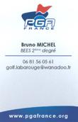 Bruno Michel Pro PGA golf mazamet la barouge