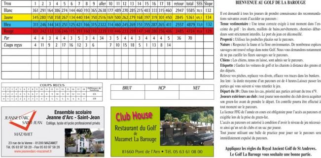 Golf-La-Barouge-carte-score-2